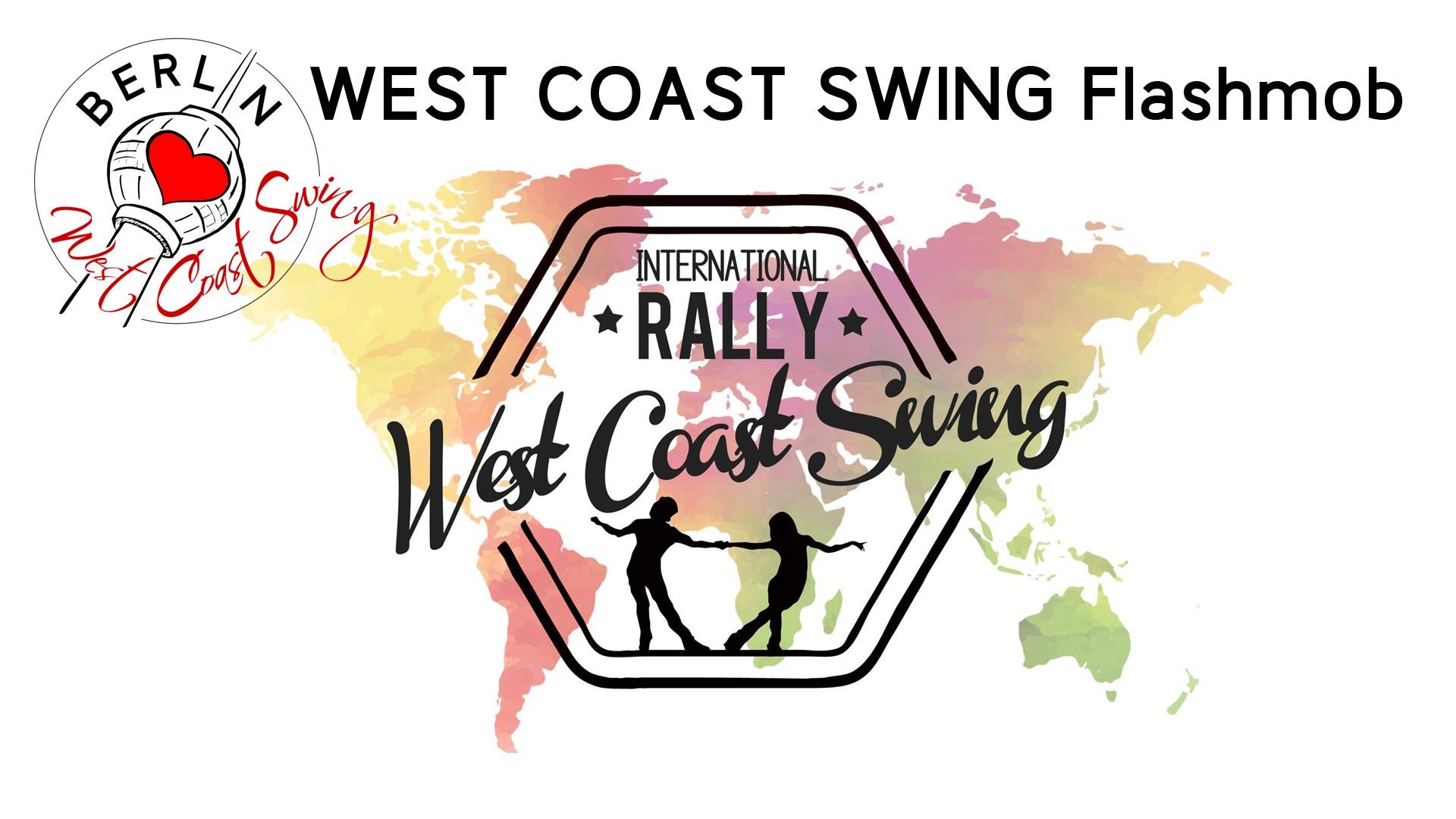 International West Coast Swing Flashmob 2018