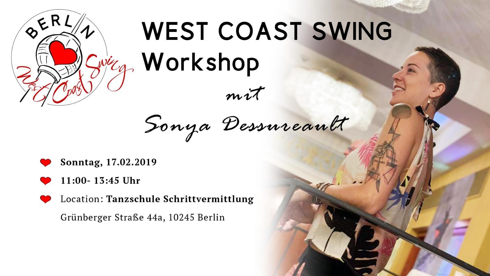 WCS Workshop mit Sonya Dessureault